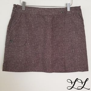 Aviva Skort Athletic Sports Brown